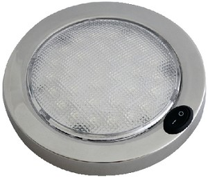 LED DOME LGHT WHT/RED SS
