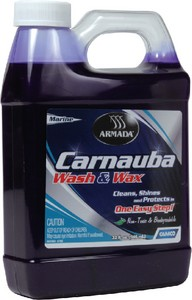 CARNAUBA WASH & WAX GALLON