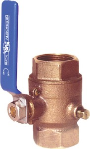 BALL VALVE LOW PROFILE 1-1/4IN