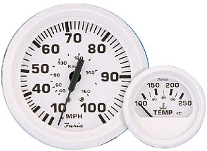 DRESS WHITE SPEEDOMETER 80 MP