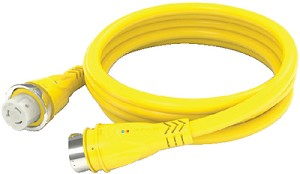 50A 125V CORDSET 25FT YELLOW