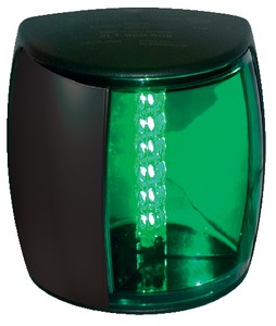 LAMP NAVILED PRO STBD 2NM BLK