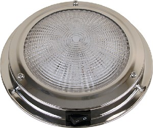 DOME LIGHT SS 5.5  LED 12V