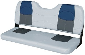 BENCH SEAT 48  GREY-CHAR-NAVY